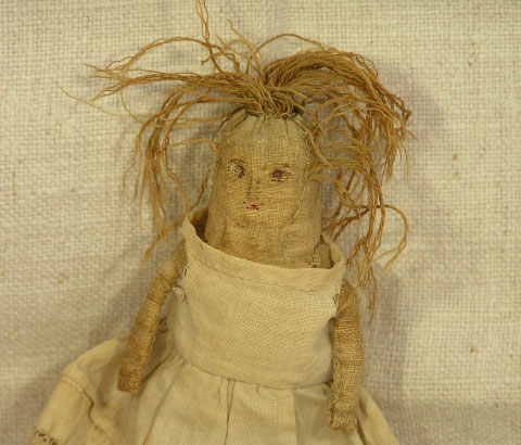19th C Church Doll