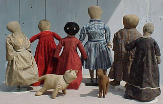 Cloth Dolls and Animals