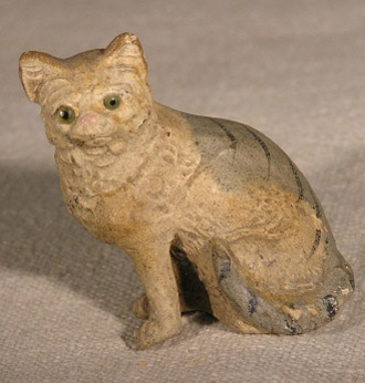 Late 19th C Composition Cat