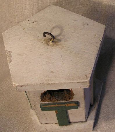 Old and Interesting Birdhouse