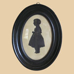Mid 19th C Silhouette