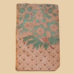 1830's Wallpaper-covered Book